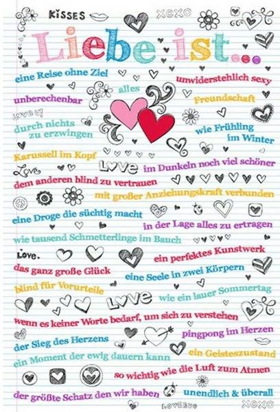 Liebe ist ... (Poster)