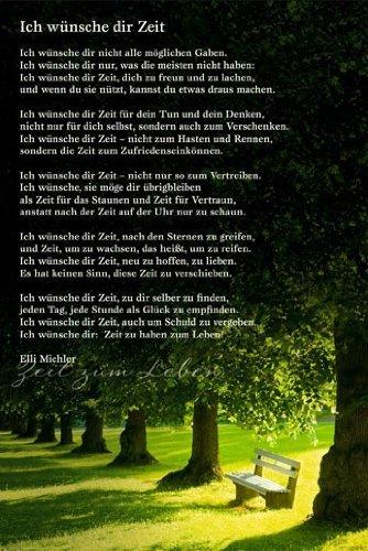 Gedicht zeit uhr