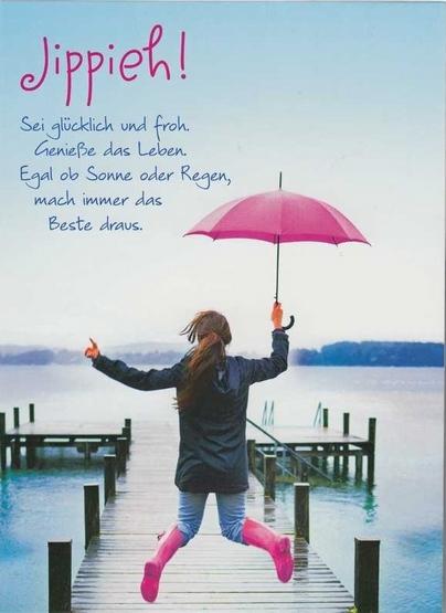 Sei Glücklich Und Froh Spruechetantede