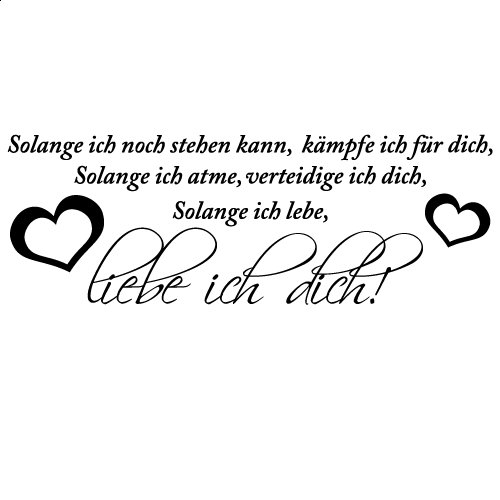liebe ich dich | www.spruechetante.de