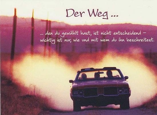 Der Weg | spruechetante.de