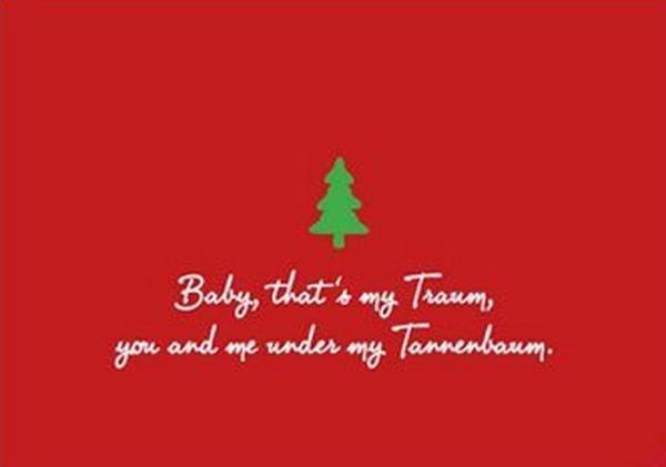 Liebe weihnachtsgrube