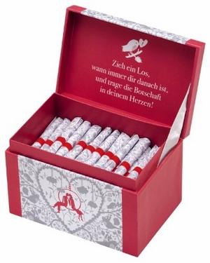 99 Lose in der Geschenkbox - Schatzkästchen der Liebe