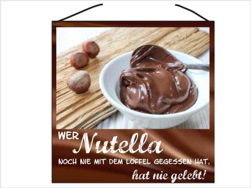 Wer noch nie Nutella mit dem Löffel gegessen hat hat nie gelebt