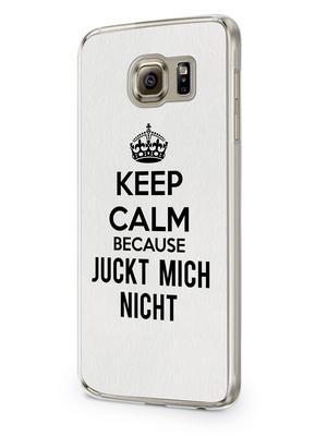 Keep calm because juckt mich nicht