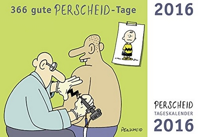 Cartoon Tageskalender 2016 (Perscheid)