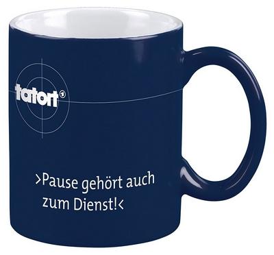 Die Tatort Pause Tasse