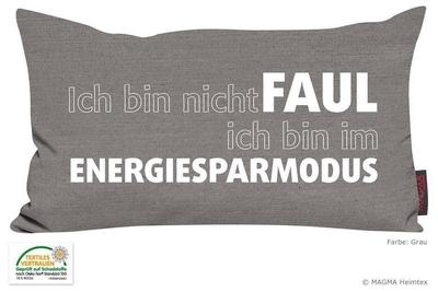 Ich bin nicht faul. ich bin im Energiesparmodus!