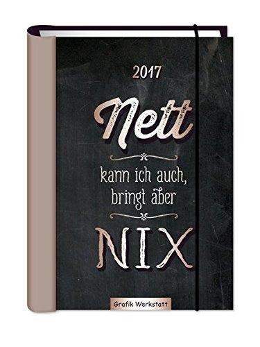 Nett kann ich auch, bringt aber NIX 2017 Terminplaner