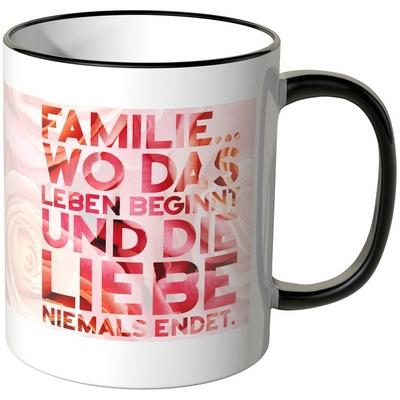 Familie … wo das Leben beginnt und die Liebe niemals endet