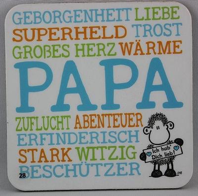 Geborgenheit Liebe Superheld Trost Großes Herz Wäre Papa Zuflucht Abenteuer Erfinderisch Stark Witzig Beschützer Ich hab Dich lieb