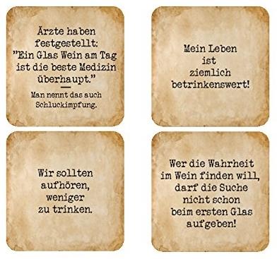bierdeckel sprüche Bierdeckel / Untersetzer mit lustigen Sprüchen oder Zitaten  bierdeckel sprüche