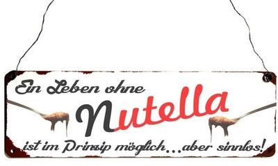 Ein Leben ohne Nutella ist im Prinzip möglich...aber sinnlos!